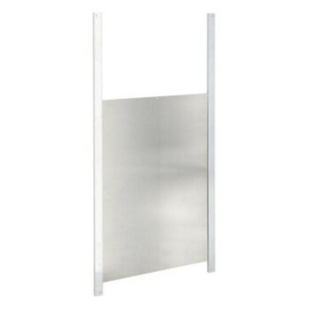 Porte coulissante en aluminium 30x 40cm offre à 17,95€