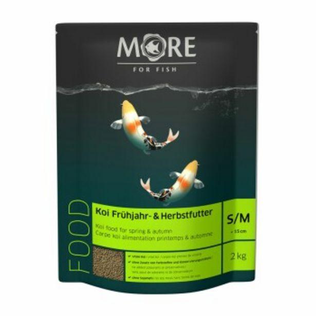 FOR FISH pour carpes koï Alimentation Printemps/Automne 2mm (P/M) 2kg offre à 25,99€