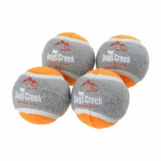 Balles de tennis Ibex , lot de 4 orange offre à 9,99€