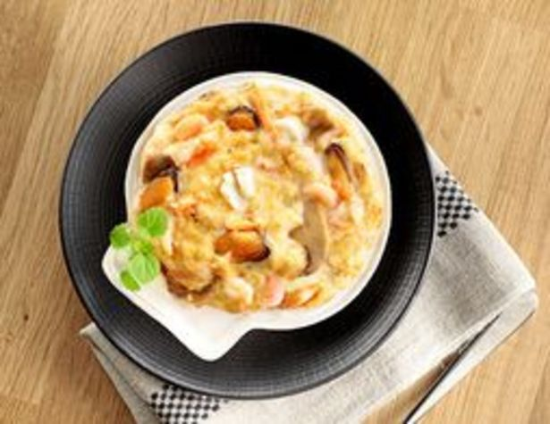 Coquilles de fruits de mer à la crème nantaise surgelées offre à 11,7€