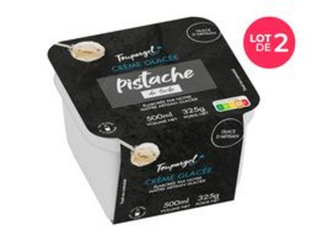 Lot de 2 bacs de crème glacée pistache de Sicile offre à 7,96€