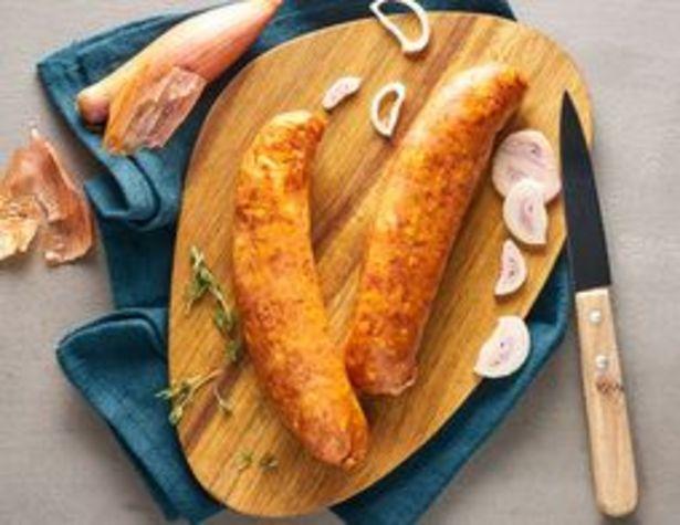 2 saucisses de Montbéliard surgelées offre à 3,99€