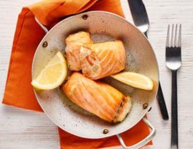 2 paupiettes de saumon surgelées offre à 5,05€