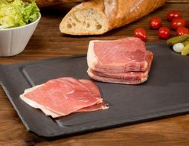 Quart prétranché de jambon Serrano IGP - 16 tranches offre à 5,66€