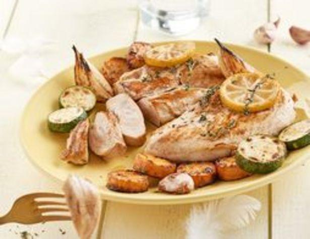 2 escalopes de poulet fermier BIO surgelées offre à 8,54€