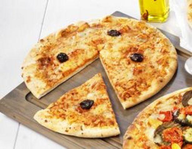Pizza 3 fromages bio surgelée offre à 4,89€