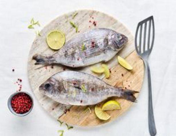 Dorades grises entières Pêche Normande surgelées offre à 11,29€