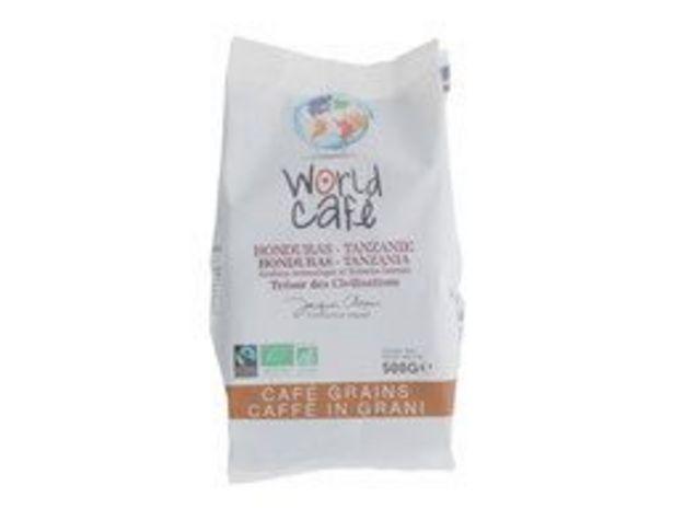 Café en grains arabica et robusta bio Café Jacques Chapuis offre à 5,99€