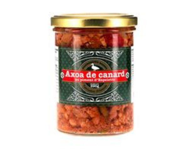 Axoa de canard au piment d'Espelette offre à 8,5€