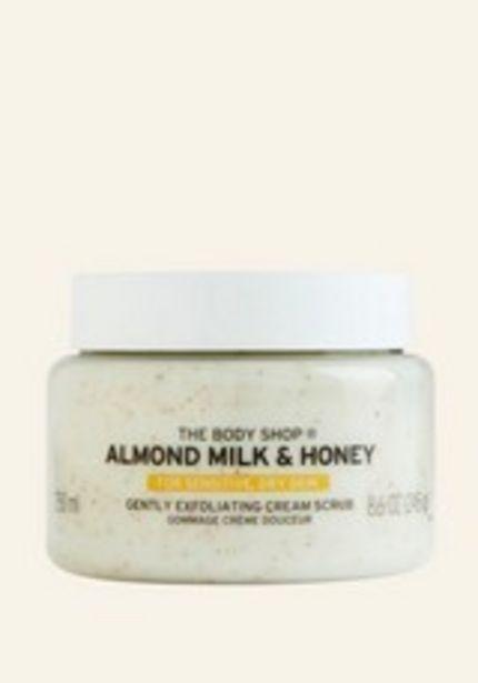 Gommage Crème Douceur Almond Milk and Honey offre à 17€