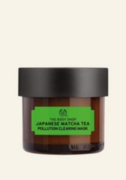 Masque au Thé Vert Matcha du Japon offre à 6€