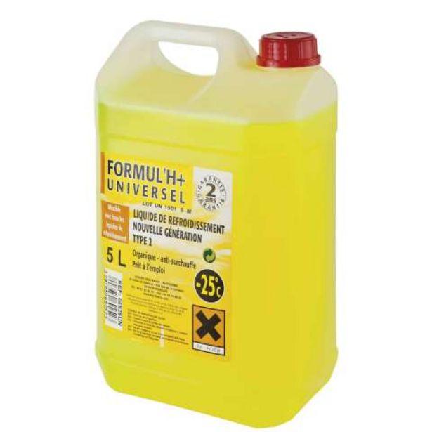 Liquide de refroidissement 5L offre à 12,69€