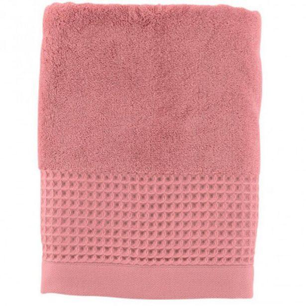 Drap de bain bouclette de coton biologique Source pétale offre à 28€