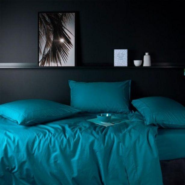 Parure de lit percale de coton Neo canard offre à 64€