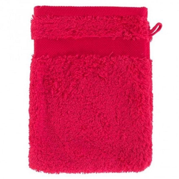 Gant de toilette coton Lola II framboise offre à 3,2€
