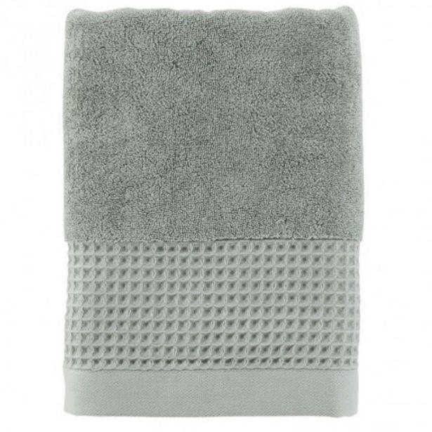 Drap de bain bouclette de coton biologique Source lichen offre à 28€