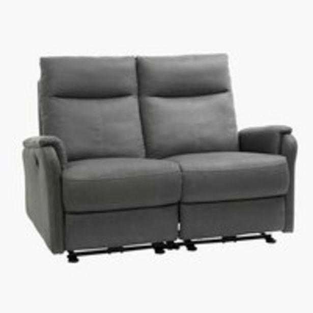 Canapé ABILDSKOV inclinable gris offre à 599€