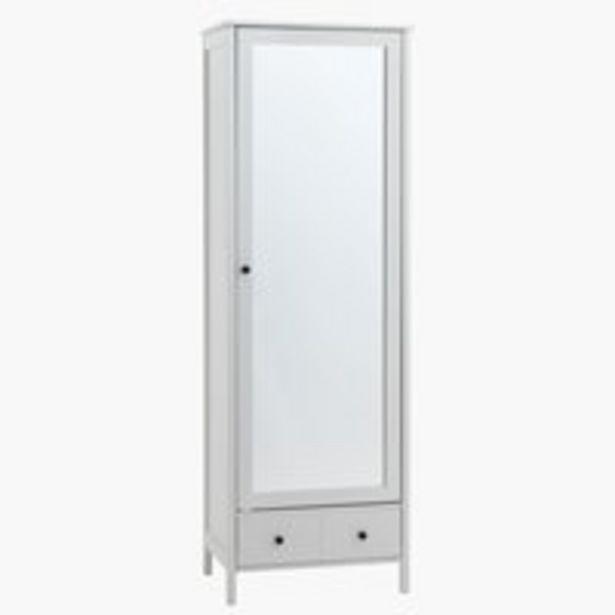 Meuble d'entrée TERPET a/miroir blanc offre à 219€