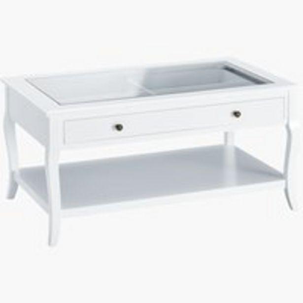 Table basse LONE 60x100 blanc offre à 169€
