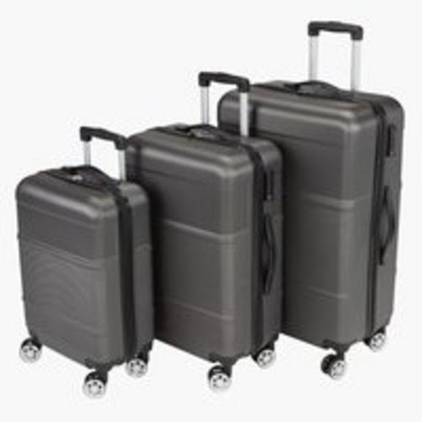 Valise GUSTEN 3pcs/lot gris offre à 85€