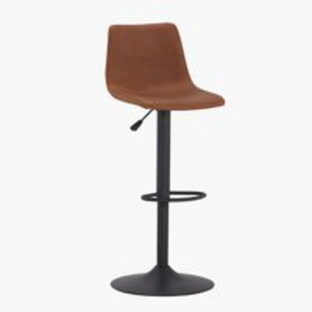 Chaise de bar BROAGER brun offre à 99€