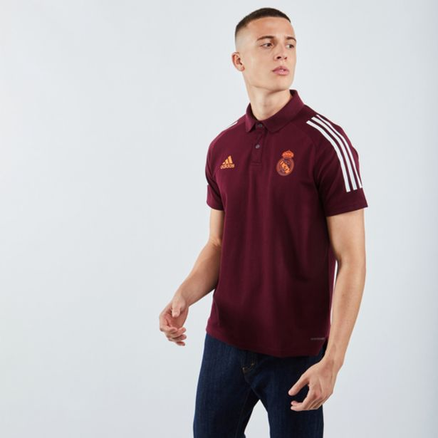 Adidas Real Madrid European Polo offre à 29,99€