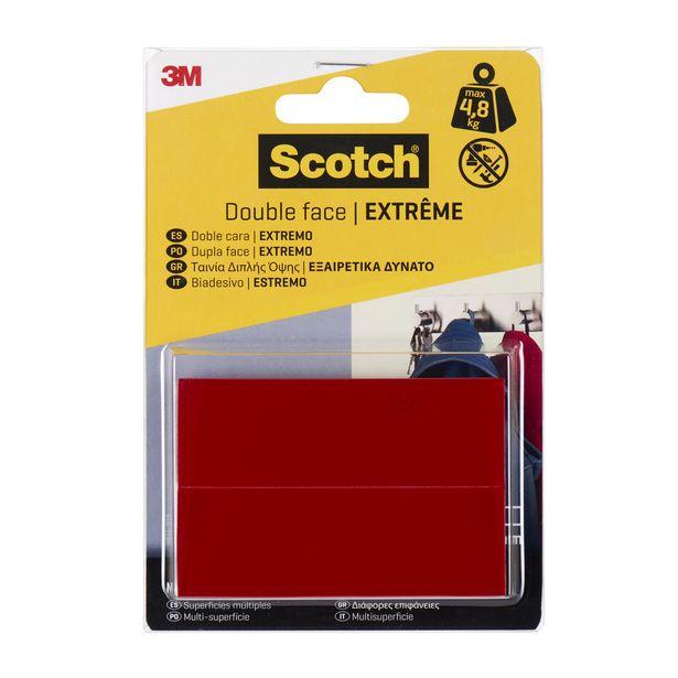 Ruban adhésif double face SCOTCH Extrême L.0.076 m x l.25 mm offre à 4,2€