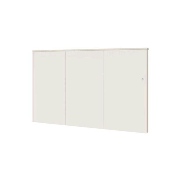 Radiateur électrique à inertie sèche AIRELEC 2000 W Caruso horizontal blanc offre à 379€