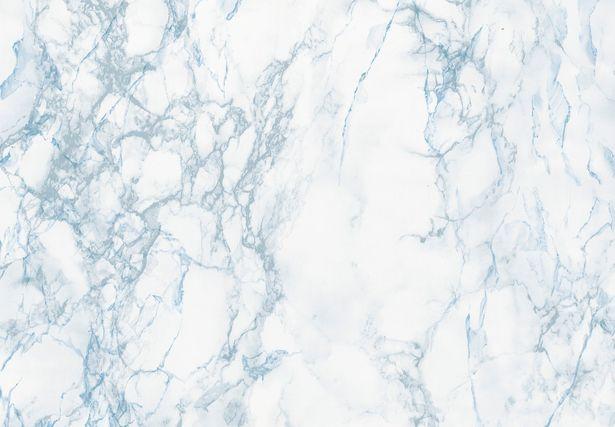 Revêtement adhésif Marbre, gris et bleu, 2 m x 0.67 m offre à 12,9€