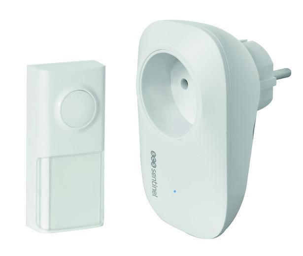 Sonnette sans fil sans pile SCS SENTINEL EcoBell 100 Plug offre à 32,46€