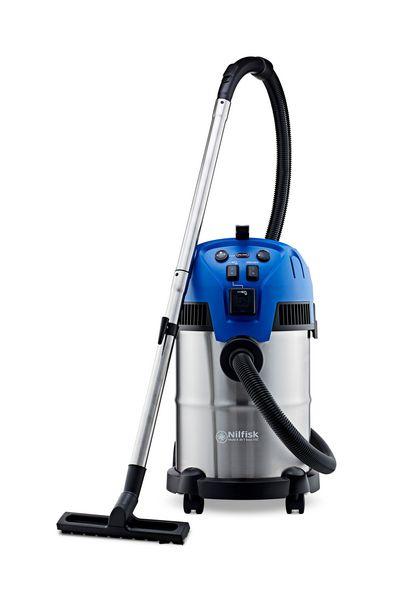 Aspirateur eau et poussières NILFISK MULTI II 30 VSC INOX, 210 kPa, 30 l offre à 186€