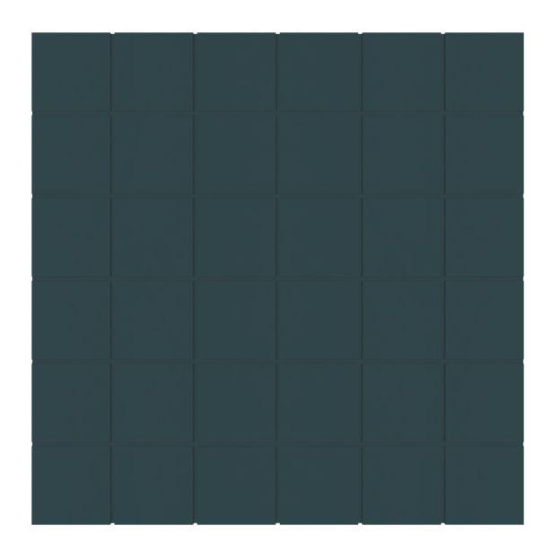 1 plaque mosaïque sol et mur Home bleu paon 30 x 30 cm offre à 13,56€