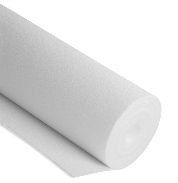 Rouleau. polystyrène expansé mur intérieur Noma tap l.0.5 m x L.10 m x Ep.4 mm offre à 5,9€
