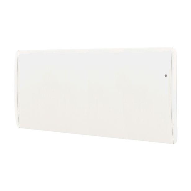 Radiateur électrique à inertie fonte 2000 W AIRELEC Sphinx horizontal blanc offre à 529€