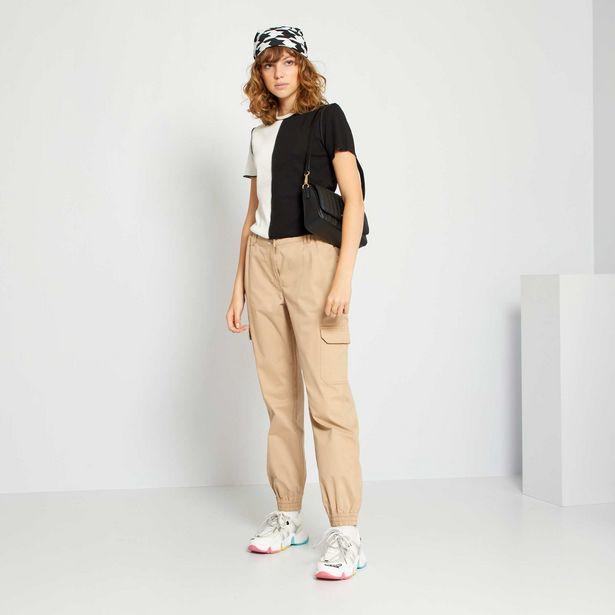 Pantalon cargo offre à 15€