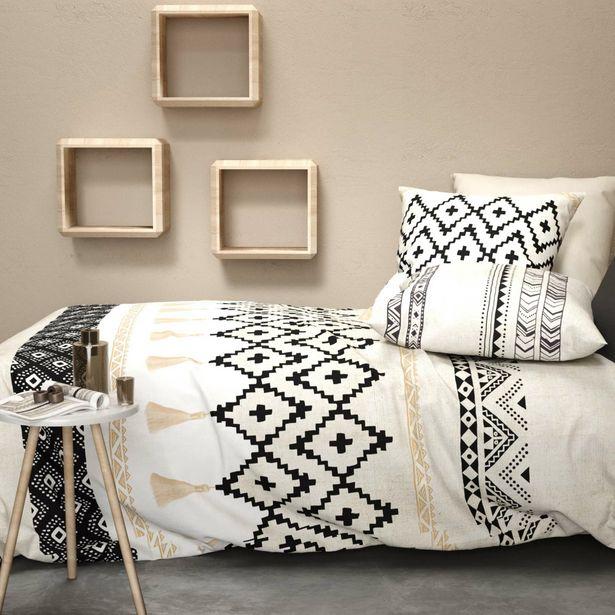 Parure de lit 2 personnes ethnique offre à 30€