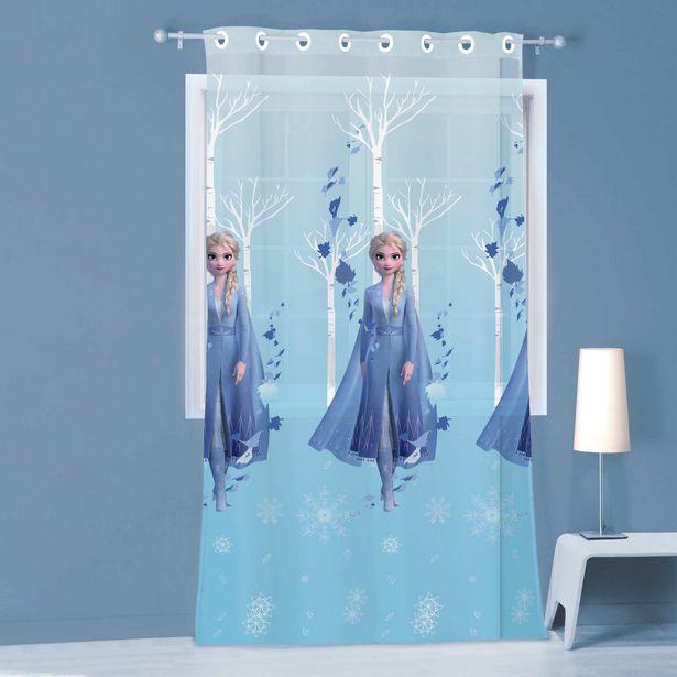 Voilage 'La Reine des Neiges' 140 x 240 cm offre à 23€