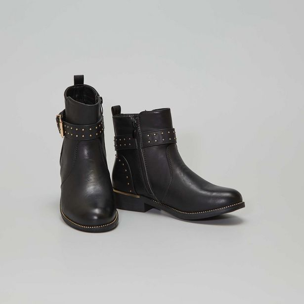Boots style 'Chelsea' à clous offre à 32€