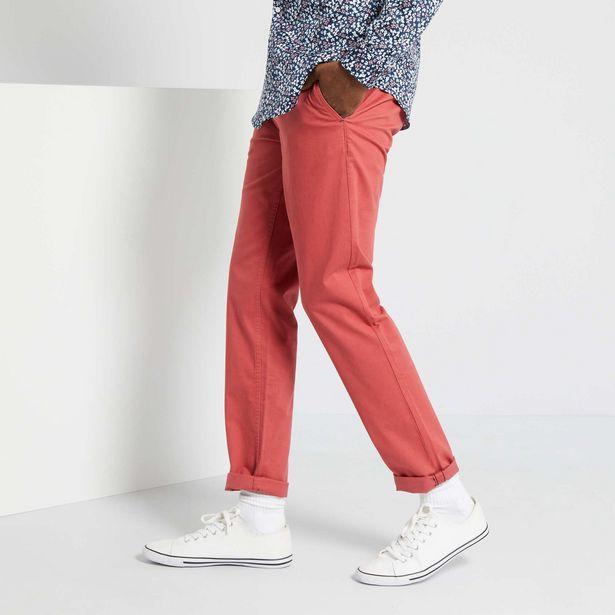 Pantalon slim éco-conçu offre à 6€