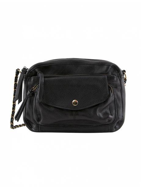 Pieces - Sac à Main Liv Leather Cross Body Black offre à 69,9€