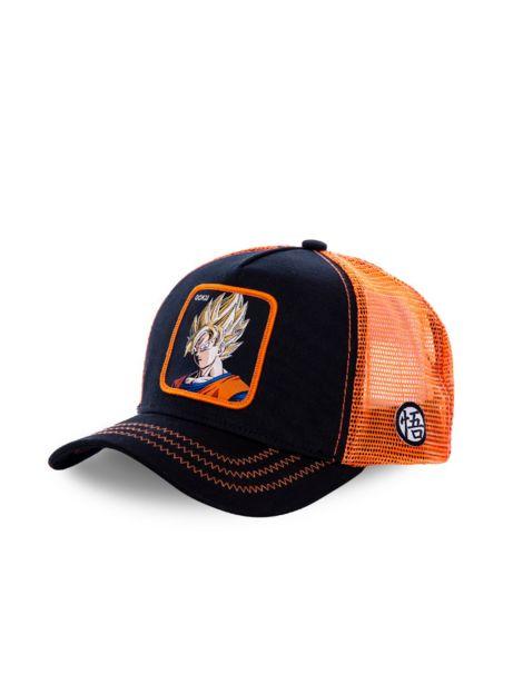 Casquette KIDS Goku Noir Orange - Capslab offre à 35€