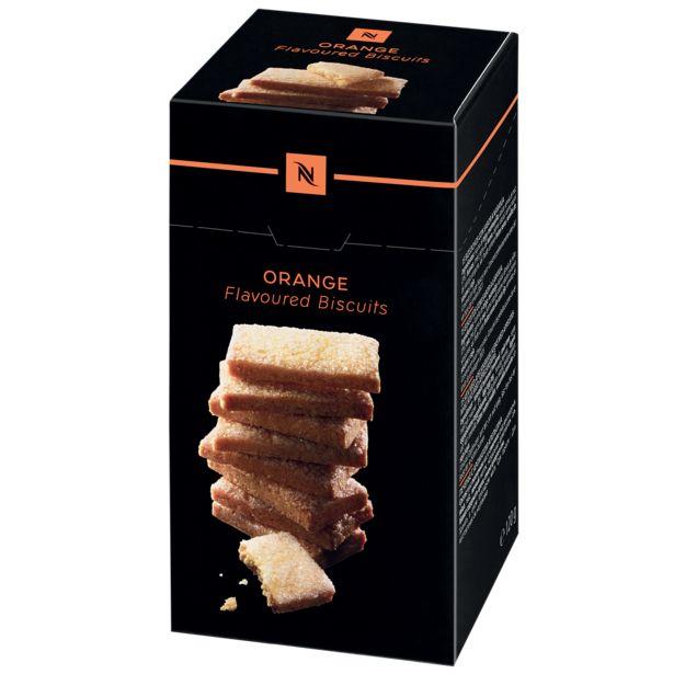 Biscuits croquants à l'orange offre à 6,5€