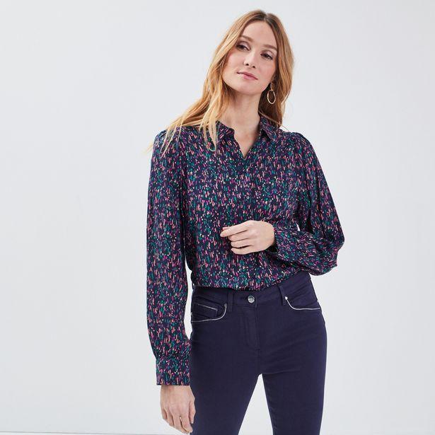 Chemise manches longues bleu m... offre à 15,99€