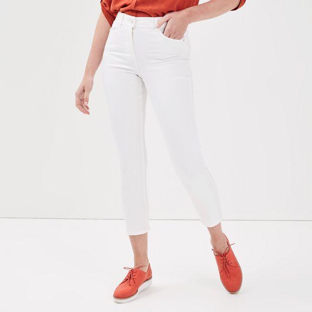 Pantalon ajusté détails strass... offre à 19,99€