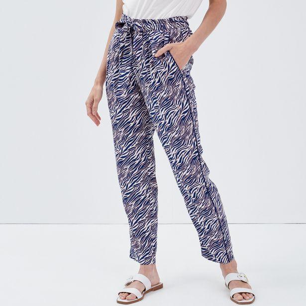 Pantalon taille standard ecru ... offre à 29,99€
