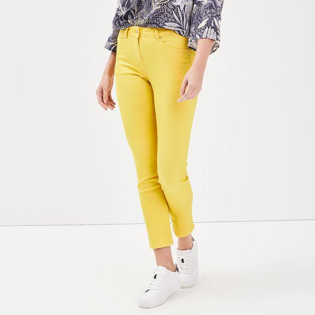 Pantalon ajusté détails studs ... offre à 19,99€