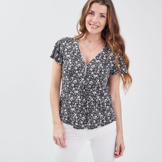 T-shirt manches courtes noir f... offre à 20,99€