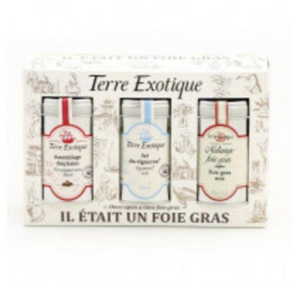 Coffret Il était un foie gras, Terre Exotique offre à 16,5€