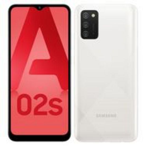 SAMSUNG Smartphone Galaxy A02s 4G 32 Go  6.5 pouces Blanc Double NanoSim offre à 149,9€