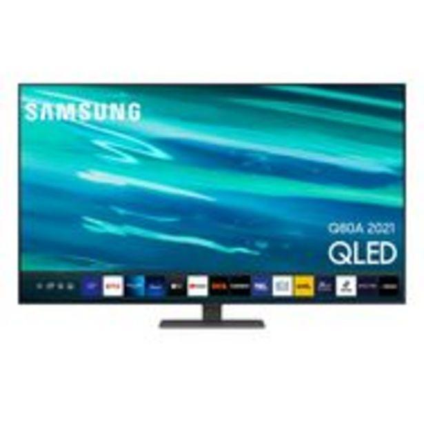 SAMSUNG QE55Q80AATXXC TV QLED 4K UHD 138 cm Smart TV offre à 1090€